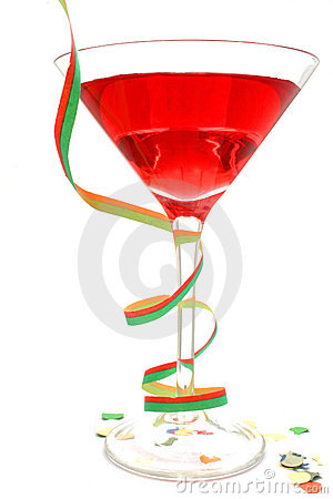 Free Red Party Cocktail Royalty Free Stock Images - 267029