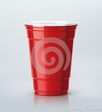 Free Red Party Cup Stock Photo - 57845290