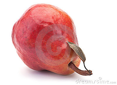 Red pear fruit