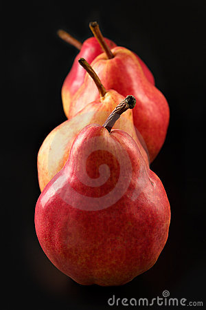 Free Red Pears Stock Photography - 2228732