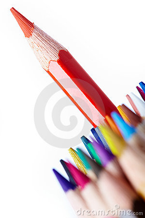Free Red Pencil Stock Photography - 15104712
