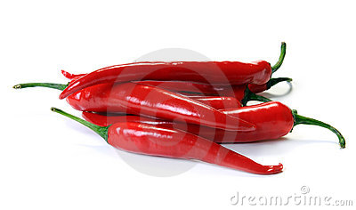 Red Pepper Isolated Stock Photo - Image: 15141420