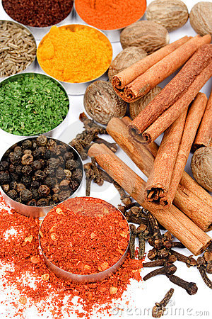 Red pepper and other spices