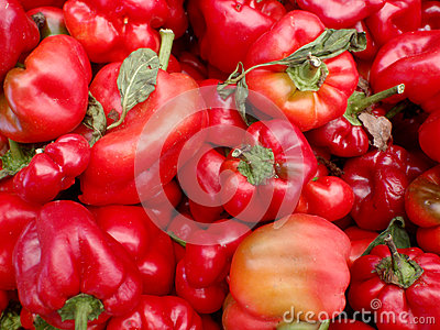 Red Pepper Pile