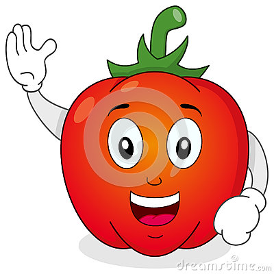 Red Pepper Vegetable Character