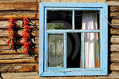 Red pepper and windows