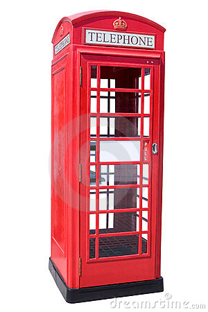 Free Red Phone Booth Royalty Free Stock Image - 15109136