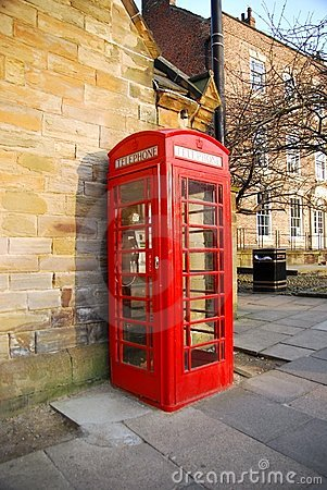 Free Red Phone Booth Stock Photo - 8705110