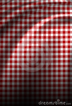 Red picnic texture