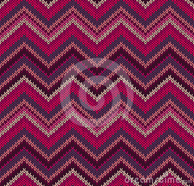 Free Red Pink Knit Texture Pattern Stock Photo - 24434220