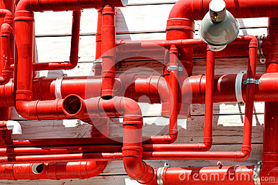 Red pipe in complex circuity