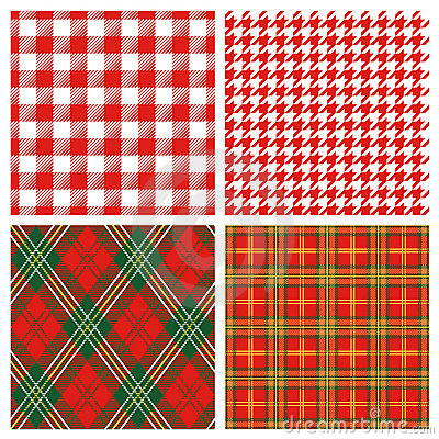 Red Plaid Royalty Free Stock Images - Image: 17151129