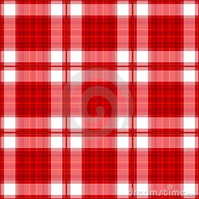 Red Plaid Seamless