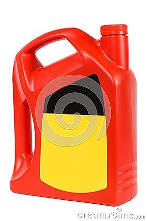 Red plastic bottle of motor oil stock images image 16301554 for Motor oil plastic bottle manufacturer
