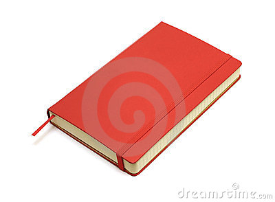 Red pocket journal