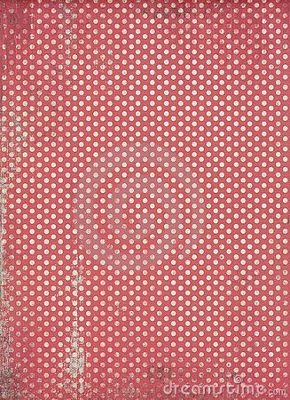 Red polka dot background