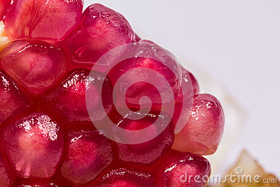 Red pomegranate seeds,fruits