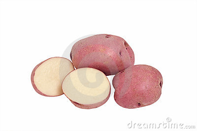 Red Pontiac potatoes