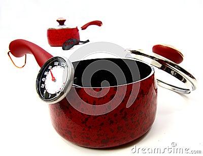 A red pot