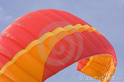 Red power kite