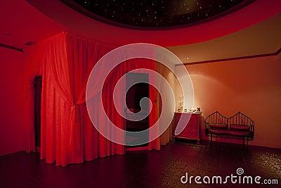 Red private spa
