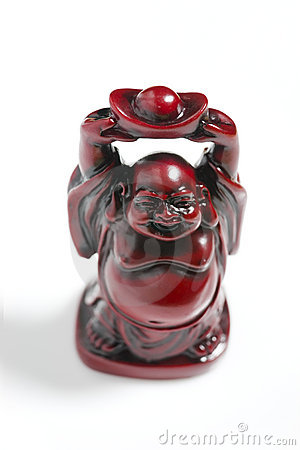 Red Prosperity Buddha