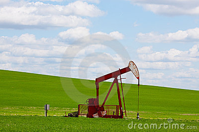 Red Pumpjack