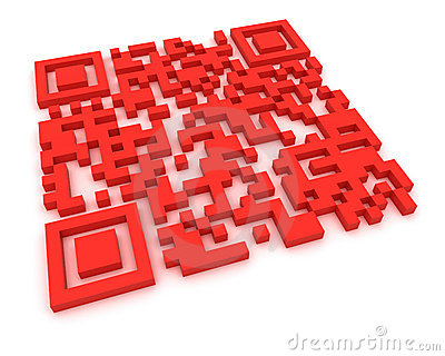 Red QR-code