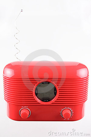 Free Red Radio Receiver Stock Photography - 13456202