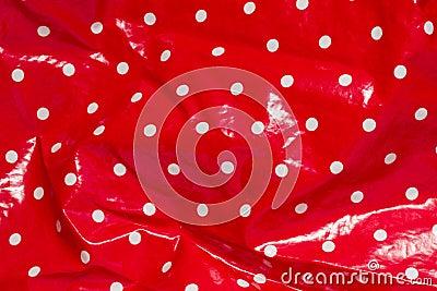 Red rain jacket
