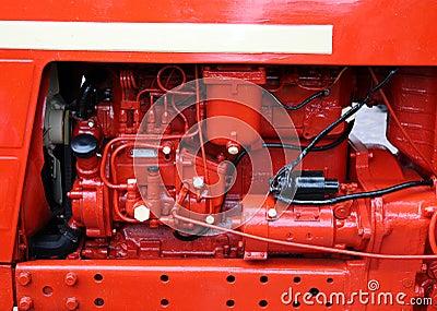 Red retro