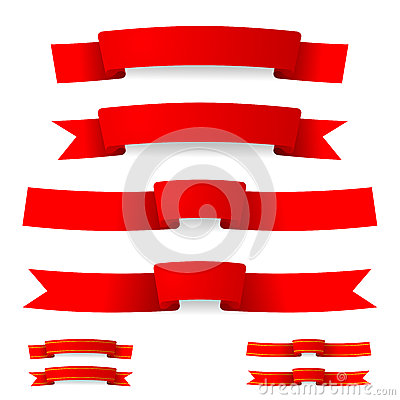 Free Red Ribbon Stock Photography - 31267242