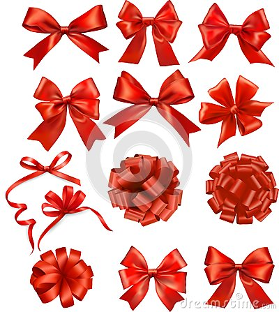 Free Red Ribbon Stock Photography - 33511952