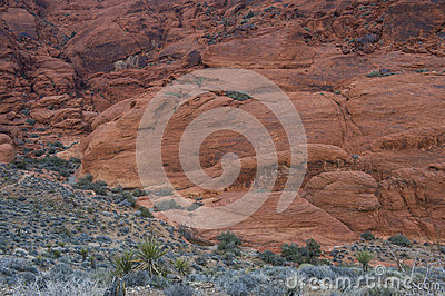 Red Rock canyon , Nevada.