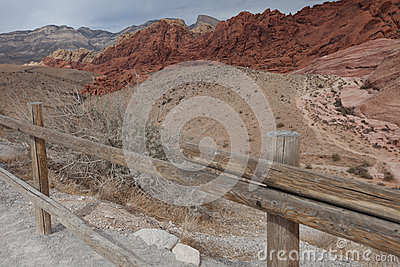 Red Rock Canyon park entrance, Nevada