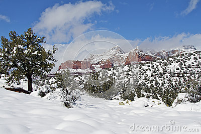 Red Rock Country Winter
