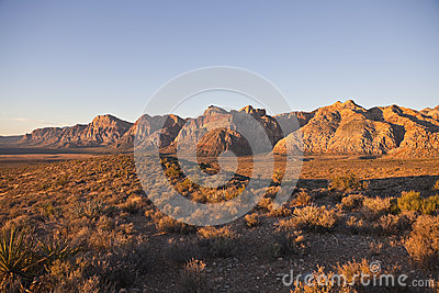Red Rock National Conservation Area - Dawn