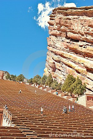 Red Rocks Amphitheatre Editorial Photography
