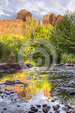 Free Red Rocks And Reflections Stock Photos - 73377183