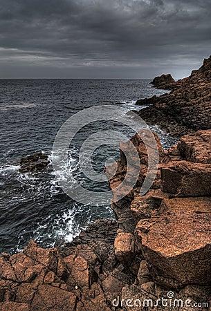 Free Red Rocks Of Provence Coast Royalty Free Stock Photos - 5217298