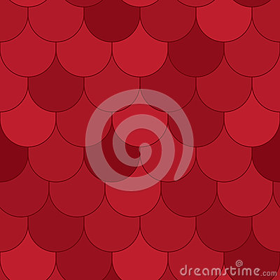 Red Roof Texture Seamless Pattern_eps