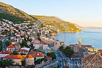 Red Roofs in Unesco Heritage Dubrovnik
