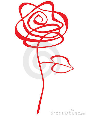 Free Red Rose Abstract Royalty Free Stock Photography - 11977827