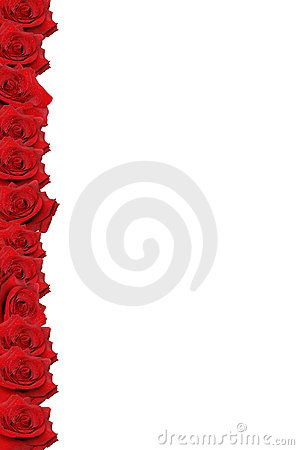 Red Rose Border Stock Image Image 3522241