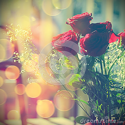Free Red Roses Stock Image - 49586431