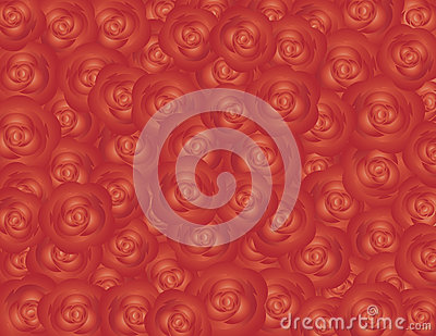 Red Roses Background Illustration