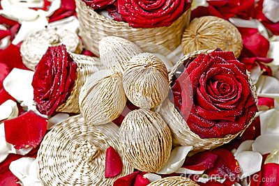Red Roses Floral Decoration