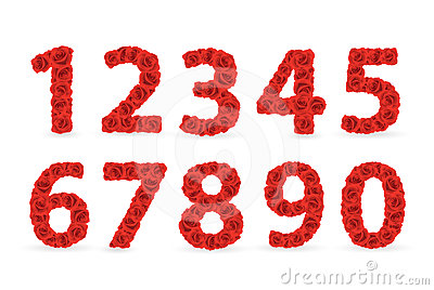Red Roses numbers.