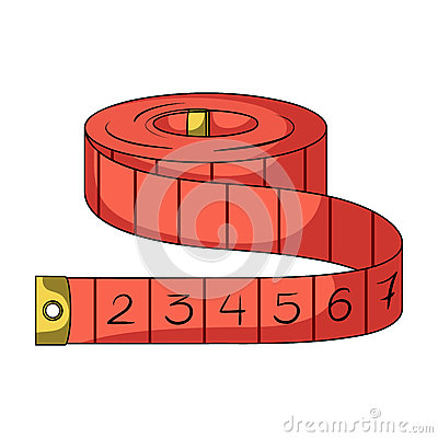 Free Red Roulette Seamstresses.Sewing Or Tailoring Tools Kit Single Icon In Cartoon Style Rater,bitmap Symbol Stock Royalty Free Stock Photos - 91849858