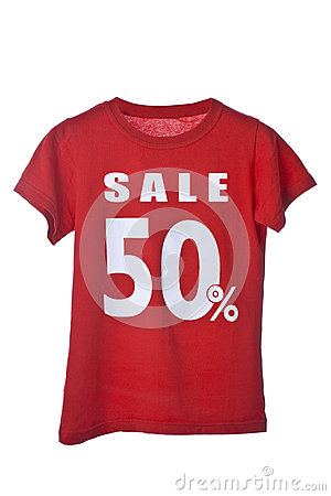 Red Sale Shirt